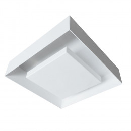 PLAFON ECLIPSE-Q 450 2X100W 78MM - BRANCO