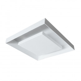 PLAFON ECLIPSE-Q 550 2X100W 78MM - BRANCO