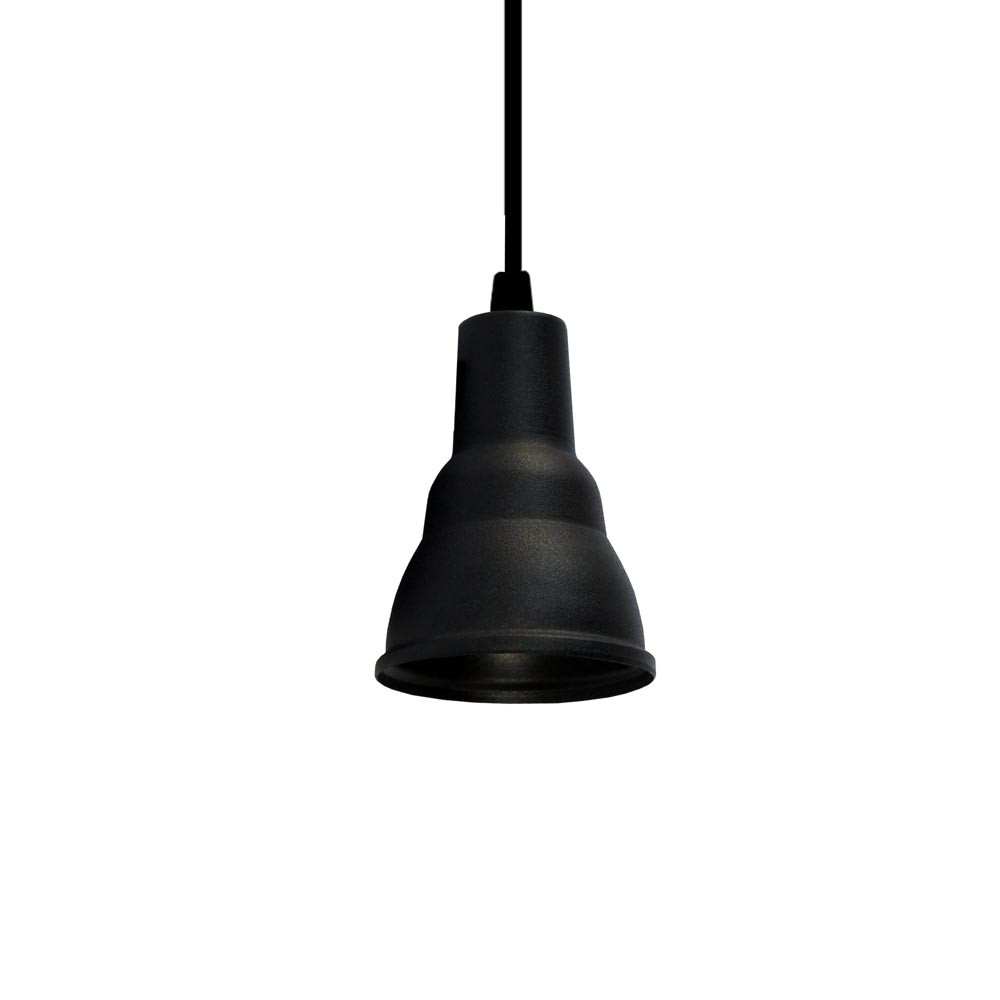 PENDENTE PIXEL PAR20 LED E27 - PRETO