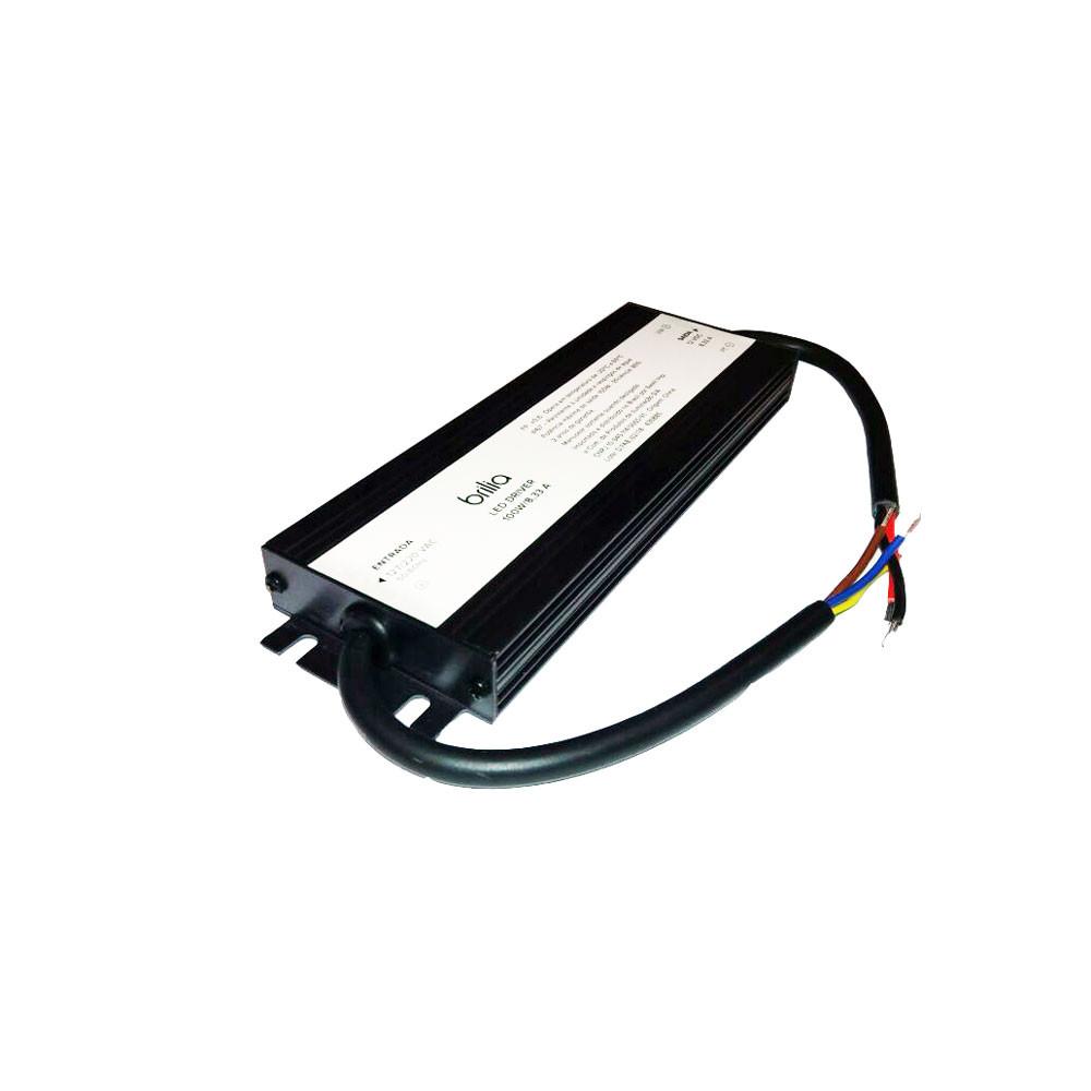 FONTE LED LED 100W 12VDC 8,3A 100-240V IP65 - DRIVER