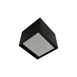 PLAFON TOB LED 11W 127V 2700K - PRETO