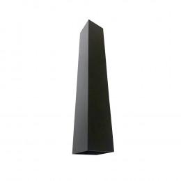ARANDELA DOUBLE-Q 50 2X50W GU10 - PRETO