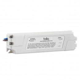 FONTE DRIVER DE LED 30 WATTS 12VDC 2,5A BIVOLT IP20