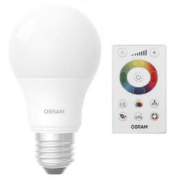 LAMPADA LED BULBO 8W BIVOLT E27 3000K AMARELA
